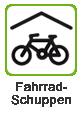 Fahrrad-Schuppen